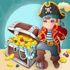 illustration petit pirate capitaine pour stickersmalin qui édite les dessin en stickers déco, par caroline pillet alias koxintox qui est graphiste et illustrateur dans le Tarn à lisle-sur-tarn