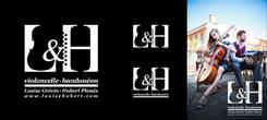 monogramme L et H violoncel et bandoneon pour le logo des musiciens louise grevin et hubert plessis pour leur charte graphique, réalisé par caroline pillet alias koxintox graphiste illustrateur à Lisle-sur-Tarn.jpg