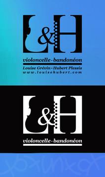 logo L&H, koxintox graphiste illustrateur à Lisle sur Tarn, Caroline Pillet,création logo,illustration