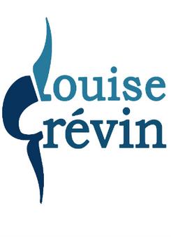 """logo de la musicienne """"Louise Grévin"""" par caroline pillet alias koxintox qui est graphiste dans le Tarn à lisle-sur-tarn, c'est un monogramme L et G qui représente la forme d'un violoncelle"""