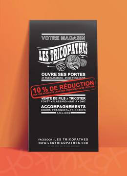 flyer Les Tricopathes