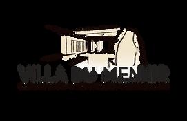 LOGO Villa du Menhir fond transparent, koxintox graphiste illustrateur à Lisle sur Tarn, Caroline Pillet,création logo,illustration