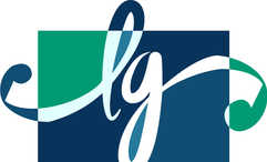 logo L&G + ouïes violoncelle, koxintox graphiste illustrateur à Lisle sur Tarn, Caroline Pillet,création logo,illustration