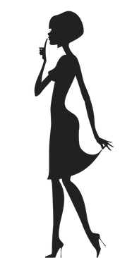 koxintox-lili.G-illustration-silhouette, koxintox graphiste illustrateur à Lisle sur Tarn, Caroline Pillet,création logo