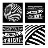 les_tricopathes_métro_boulot_tricot, koxintox graphiste illustrateur à Lisle sur Tarn, Caroline Pillet,création logo,illustration