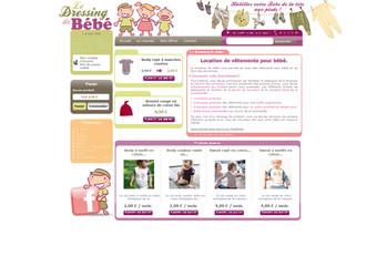 site Le Dressing de Bébé