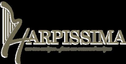 Harpissima harpe musicinne harpiste, koxintox graphiste illustrateur à Lisle sur Tarn, Caroline Pillet,création logo,illustration