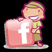 icone page facebook pour Le Dressing de Bébé, koxintox graphiste illustrateur à Lisle sur Tarn, Caroline Pillet,création logo,illustration