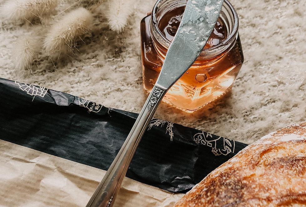 Couteau à beurre fleuri