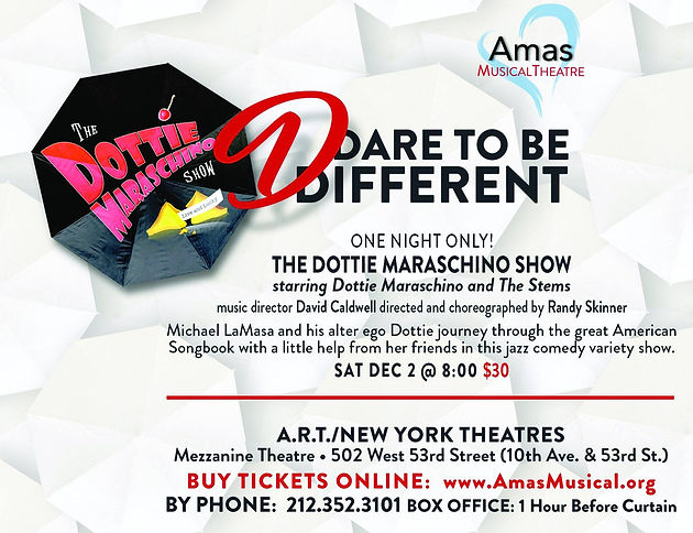 Dottie Maraschino and The Stems in Concert - ONE NIGHT ONLY