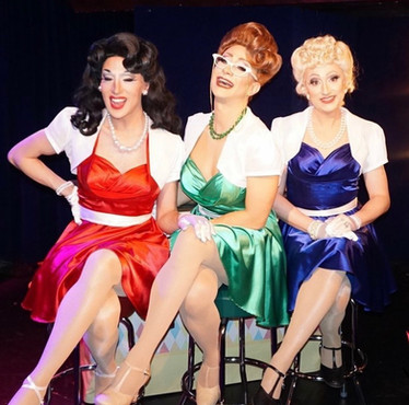 Mabel Syrup, Bette Griddler, and Pam Cakes - The Hell's Kitchenettes