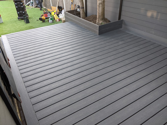 Trex composite decking Clamshell