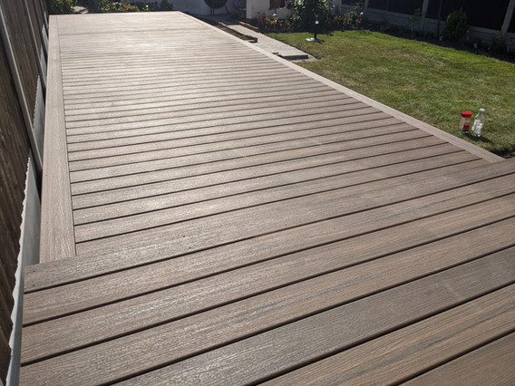 Trex Decking Toasted sand