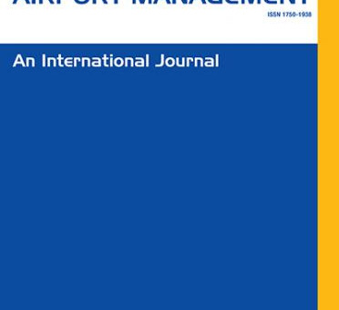 New publication in the Journal of Airport Management