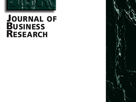New publication in the Journal of Business Research