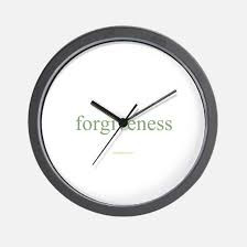 The Pace of Forgiveness
