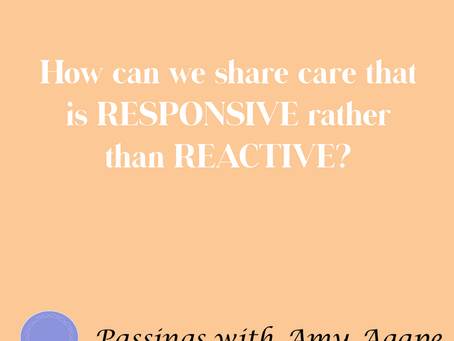 Responding or Reacting:  What's the Difference and Why Does It Matter in Caregiving?