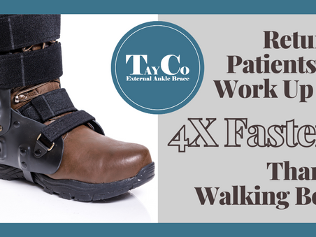 The TayCo Brace Reduces Days Lost To Ankle Injuries