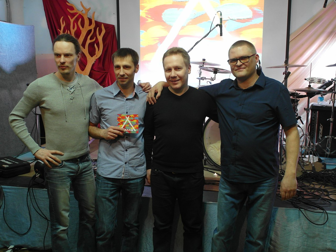 "Shalash Band, after presentation of debut album ""Shalash"""