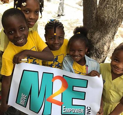 Smily girls in Haiti