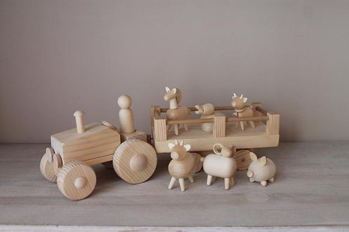 ROSTOK Farm Tractor Set