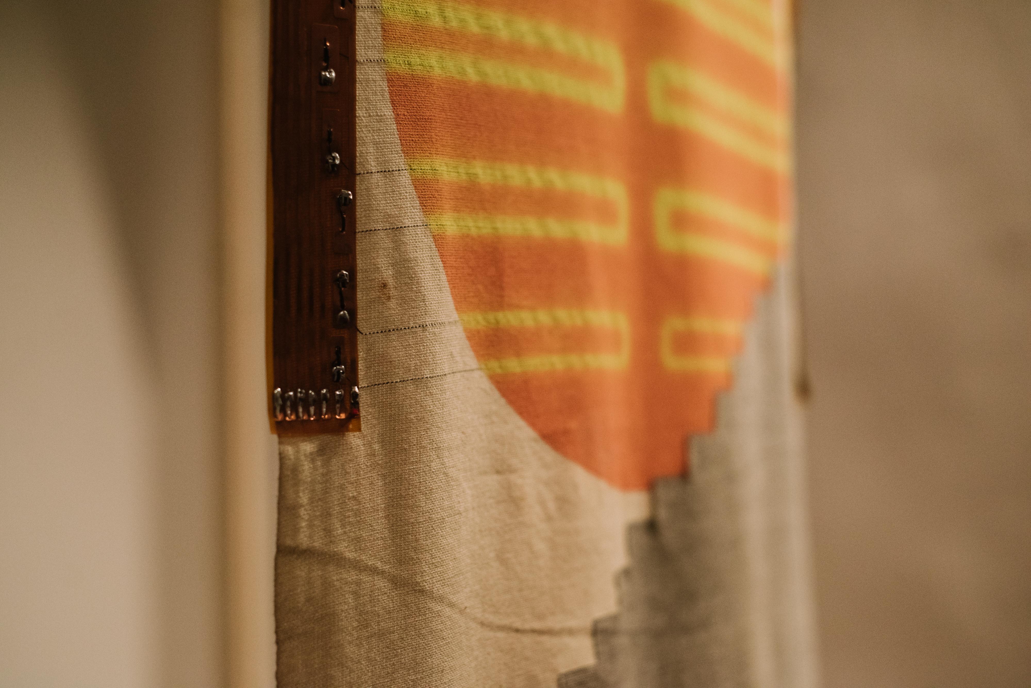 Textile Sunrise detail