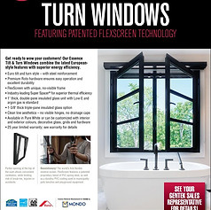 ESSENCE TILT TURN WINDOWS