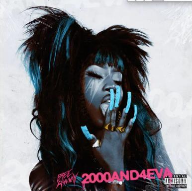 Bree Runway's 2000AND4EVA mixtape artwork (assisted)
