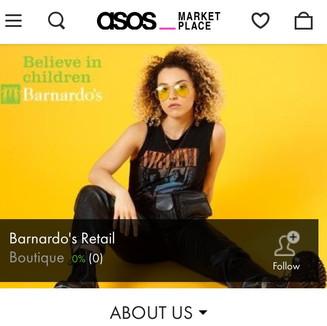 Barnardo's x ASOS Marketplace