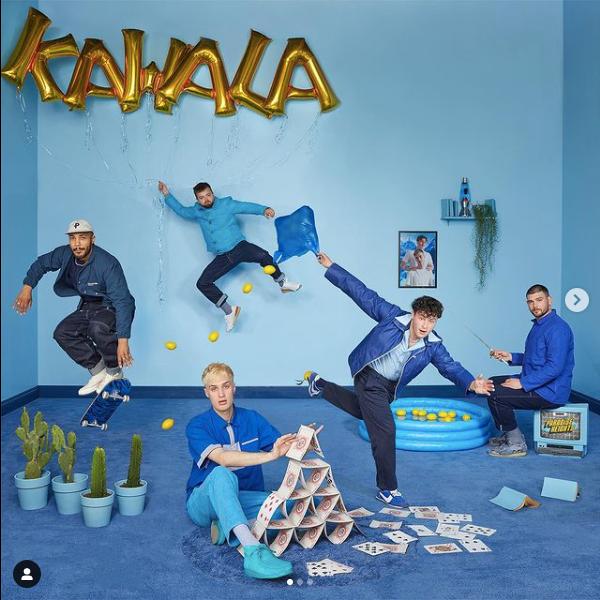 KAWALA 'Angry Man' album cover artwork