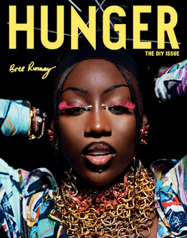Assisted Hunger Magazine cover featuring Bree Runway