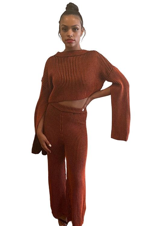 Luminous Sweater Knit Two Piece Set
