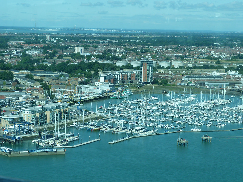 Area view from Gunwharf Quays