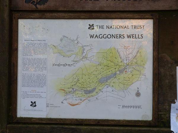 Waggoners Wells on the Hampshire/Surrey border