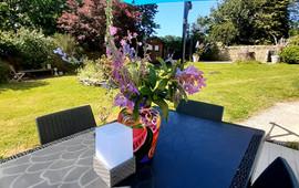 Terrasse et jardin Nuances bretonnes