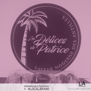 Remarkable Thursday 15/ Local Brand 1 - Les délices de Patrice
