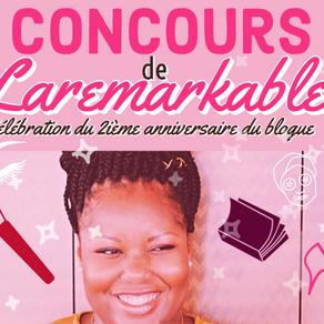 Concours : Célébration du 2ième anniversaire du blogue !