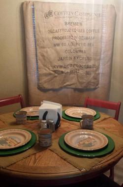 Bunkhouse Dining Area