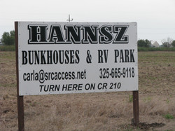 Sign on HWY 277