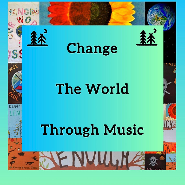 Change The World Through Music - Susfest + Greenpeace (XR)