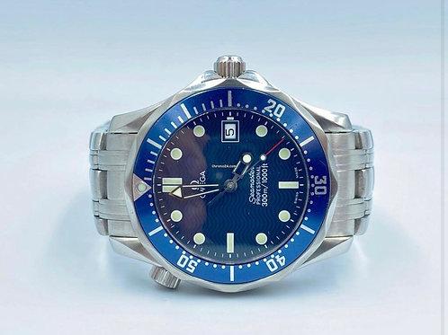 Omega Seamaster Diver 300 M 36mm quartz blue dial
