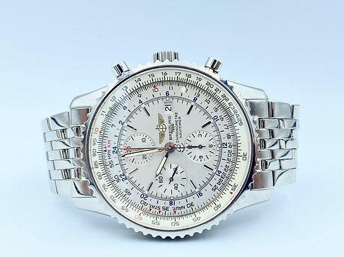 Breitling Navitimer World with box & paper from 2014