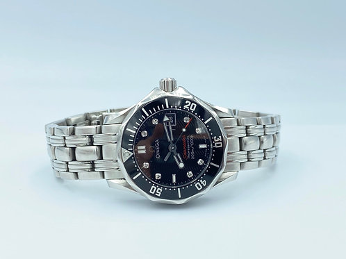 Omega Seamaster Diver 300 M Diamond dial 2013 box & papers