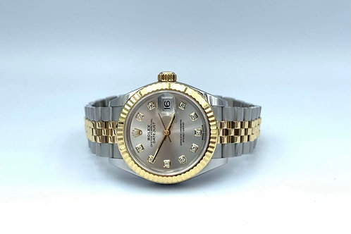 Rolex Lady-Datejust 28mm factory diamond dial from around 2017 (NO PAPERS)