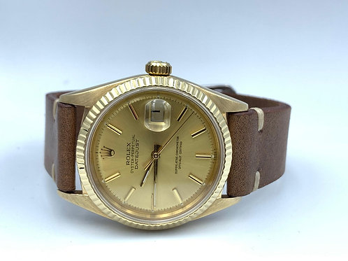 Rolex Datejust 36mm yellow gold from 1986 sapphire glass