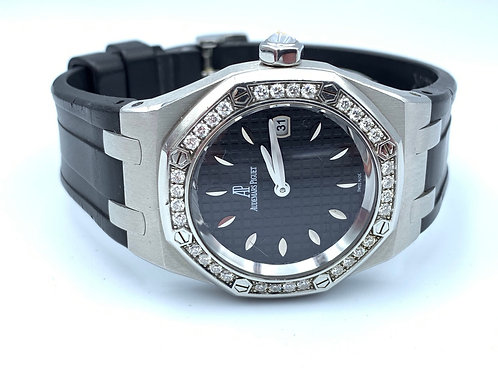 Audemars Piguet Royal Oak Lady 33mm Diamond set 2012 box & papers