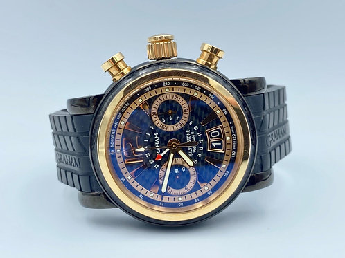 Graham Woodcote Ii rose gold/steel limited edition full set