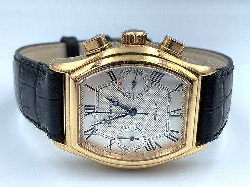 Girard Perregaux Richeville Rose gold Chronograph automatic