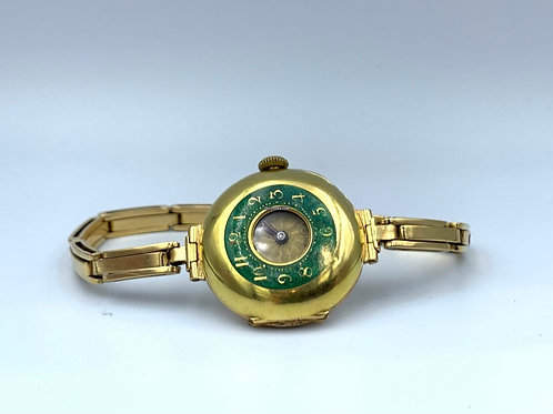 Rolex Cocktail Watch Lady 18K Gold Vintage