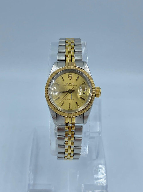 Tudor Princess Oysterdate gold/steel 25mm from 1993